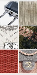 Overview Exceptional Chanel leathers