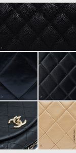 Overview Classic Chanel leathers