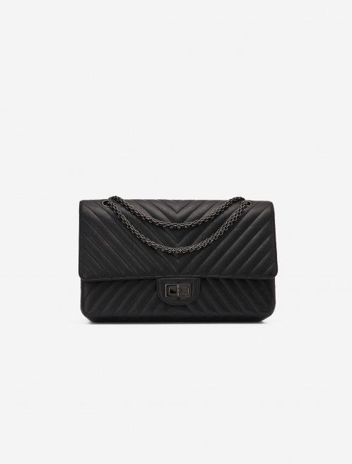 Chanel 2.55 Reissue 227 Lamb So Black Edition