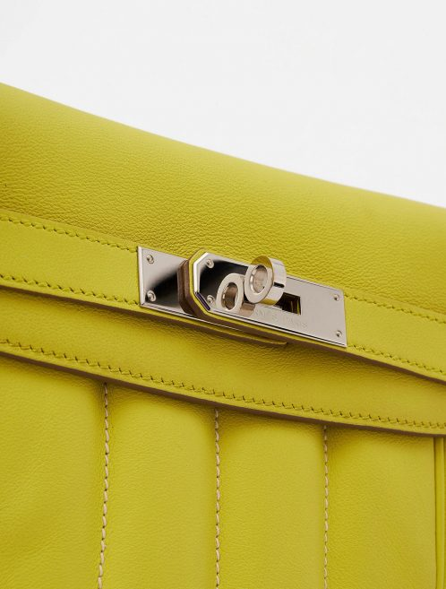 Hermès Berline Mini Swift Soufre Handbag