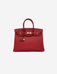 Hermès Birkin 35 Togo Bougainvillier Handbag SACLÀB