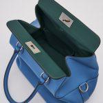 Hermès Toolbox 26 Swift leather Blue Handbag