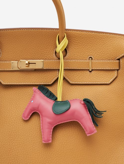 Hermès Rodeo GM Swift Leather Bag Charm Birkin Bag