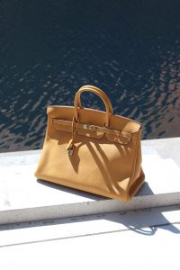 A Hermès Birkin 40 in Vache Natural via SACLÀB