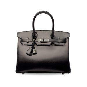 A Hermès Birkin So Black 30 at Christie's sold in a 2017 HK auction