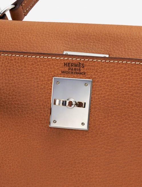 Hermès Kelly 32 Natural Pre-Loved Luxury Handbag