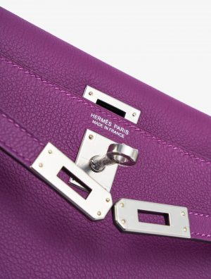 Hermès Kelly Danse Swift Anemone Luxury Handbag SACLÀB