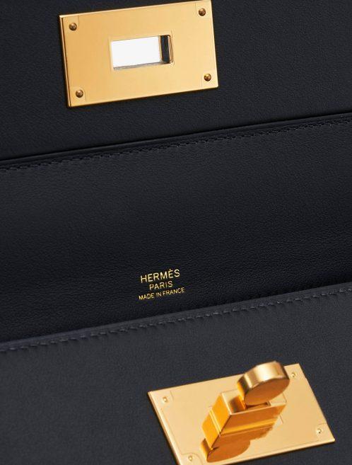 Hermès 2424 29 Clemence Black Handbag SACLÀB