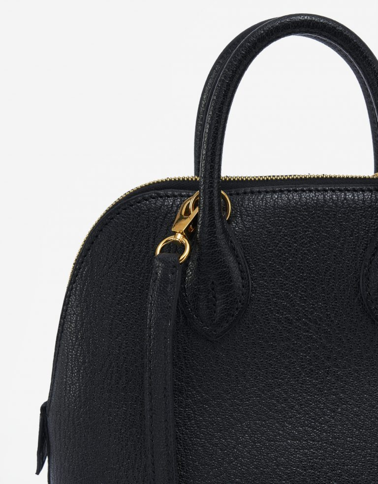 Hermès Bolide Mini Chevre Black