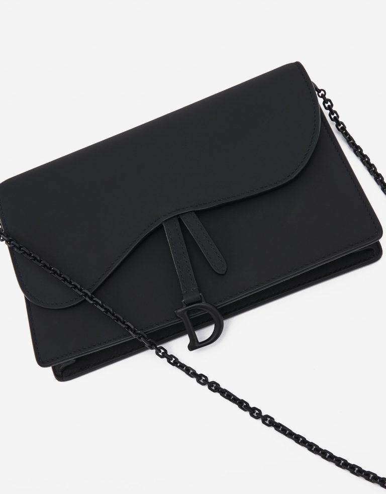 Dior Saddle Clutch Ultra Matte Black Edition SACLÀB