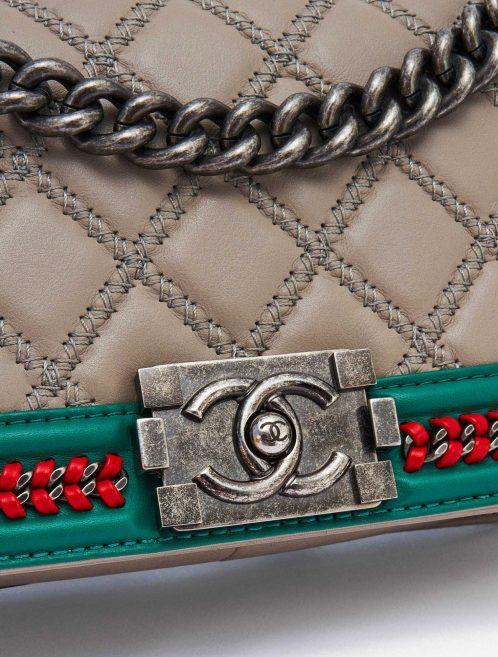 Chanel Boy Runway Edition 2015 Grey Lambskin SACLÀB