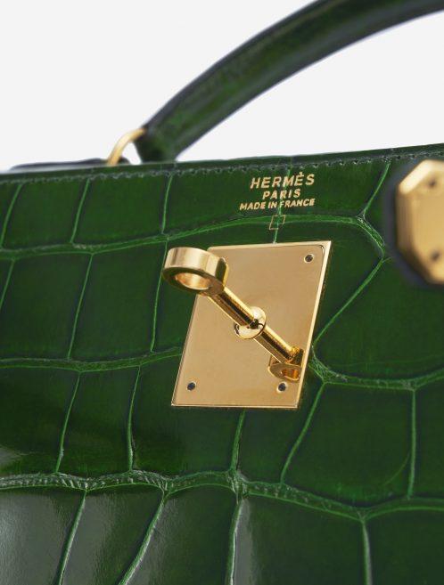 Hermès Kelly 32 Alligator Vert Emerald Exotic Handbag