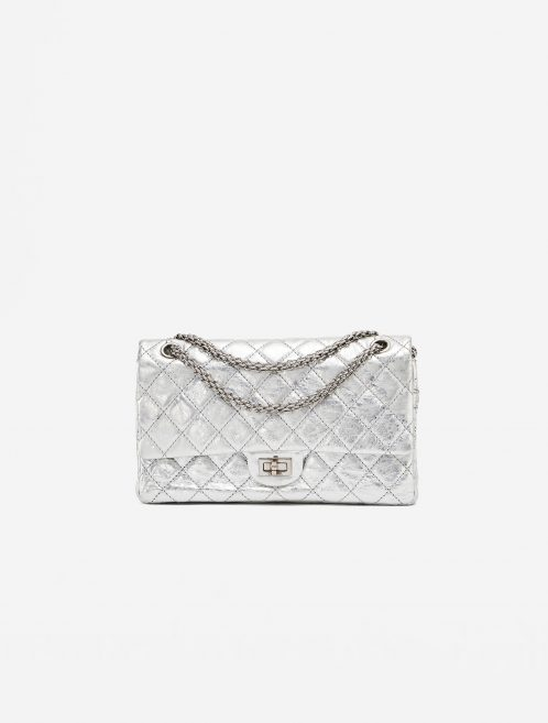 Chanel 2.55 226 Metallic Silver Limited Edition Bag SACLÀB