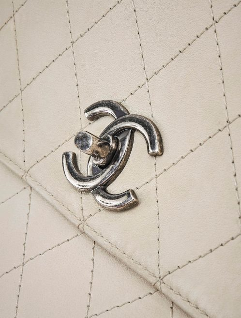 Chanel Business Affinity Large Calfskin Light Beige