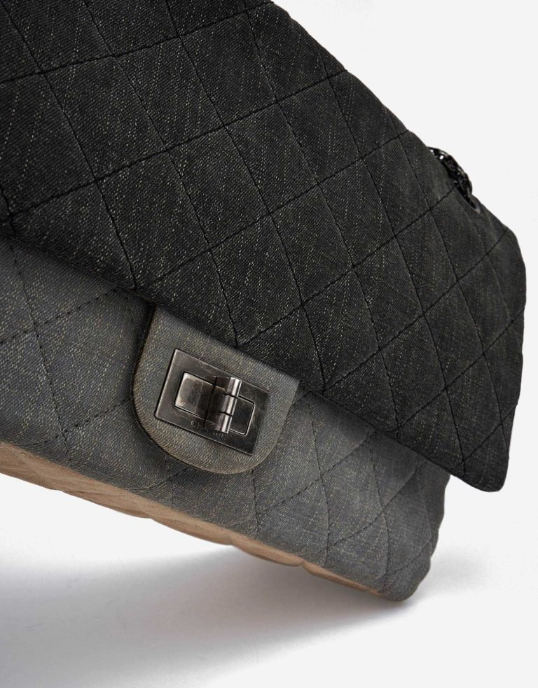 Chanel 2.55 Reissue Maxi Denim Grey SACLÀB