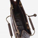 Vintage Chanel Shopper Medium Alligator Marron