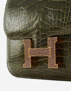 Hermès Constance 18 Marquette Alligator Lizard SACLÀB