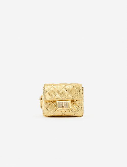 Chanel 2.55 Mini Belt Bag Clip Lambskin Gold SACLÀB