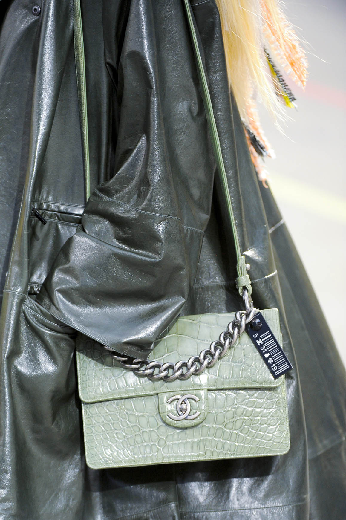 Chanel Alligator Bag Fall Winter 2014 Exotics