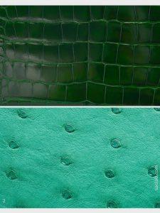 hermes colour library vert emerald vert vertigo croco on saclab.com