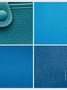 hermes colour library blue jean bleu du nord blue zanzibar blue thalassa on saclab.com