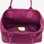 Bottega Veneta Cabat Small Intrecciato Purple Pink, Violet  | Sell your designer bag on Saclab.com