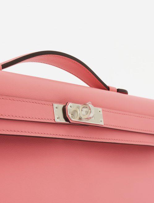 Hermès Kelly Cut Clutch Swift Rose d'Ete