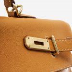 Hermès Kelly 50 Ardennes Natural Brown, Natural  | Sell your designer bag on Saclab.com
