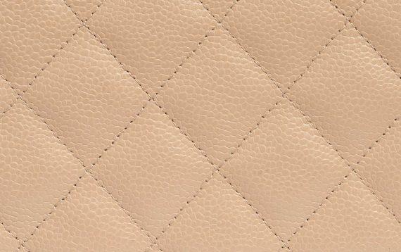 Chanel Caviar Leather Nude Timeless Flap Bag SACLÀB