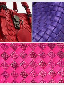 Pre-Loved Bottega Veneta hardware details and intrecciato