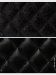 Chanel Caviar and Lambskin Leather Comparison