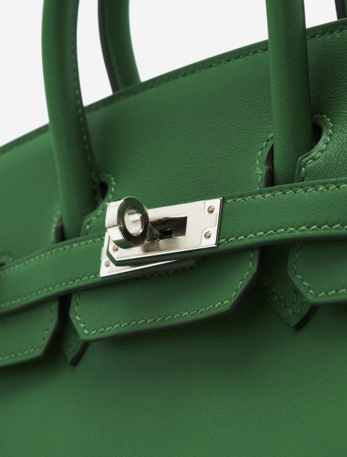 A pre-loved Hermès Birkin 25 Swift Cactus on SACLÀB
