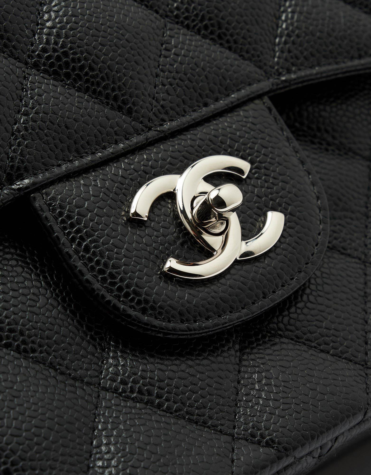 Chanel Timeless Jumbo Caviar Black