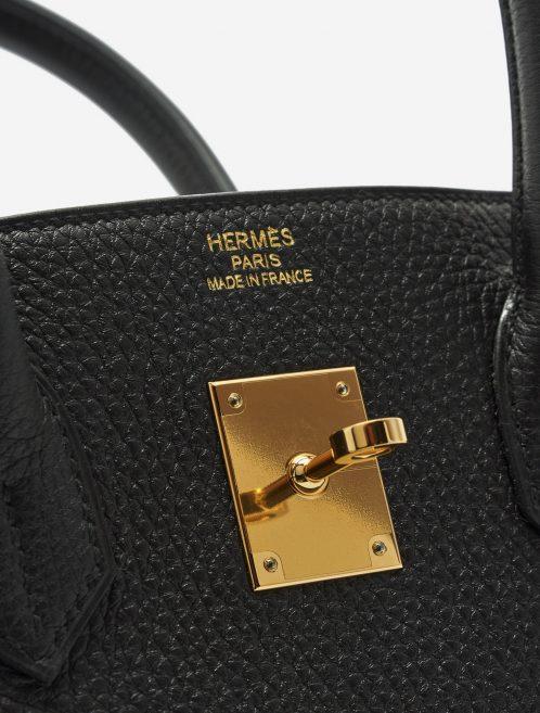 A pre-loved Hermès Birkin 35 Togo Black on SACLÀB