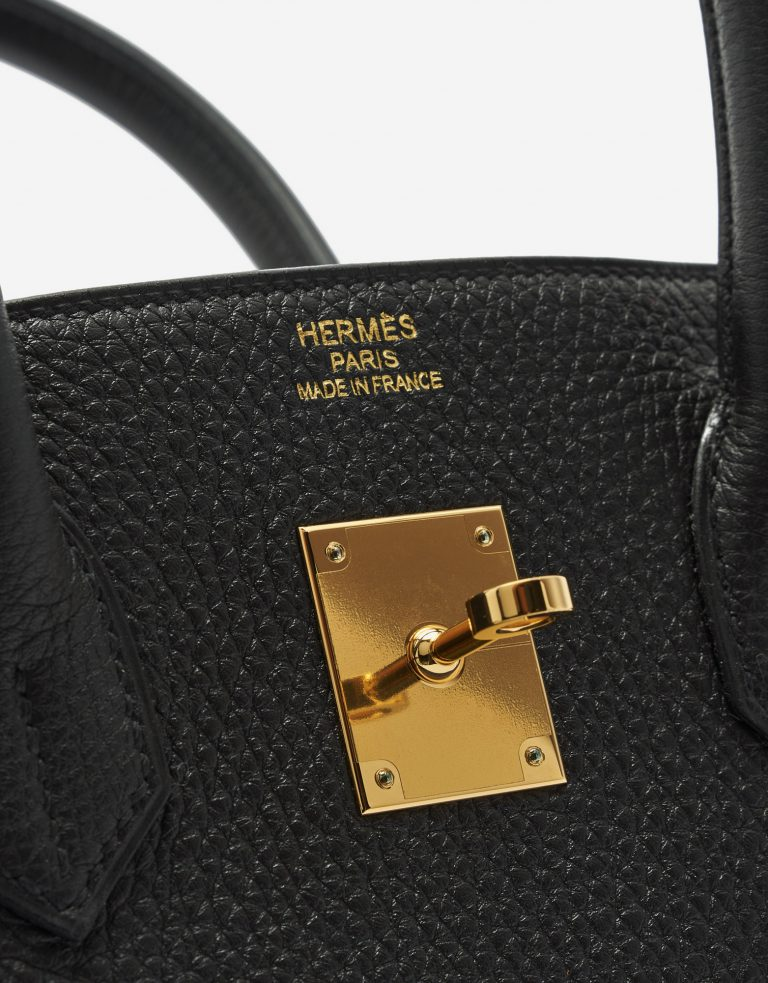 A pre-loved Hermès Birkin 35 Togo Black on SACLÀB