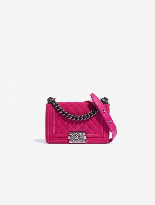 Chanel Boy Small Velvet Pink