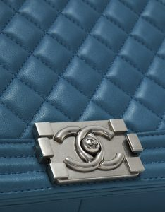 Chanel Boy Medium Lamb Petrol