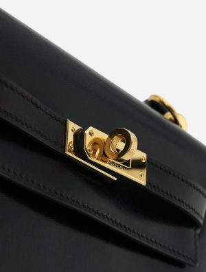 Hermès Kelly 20 Box Black