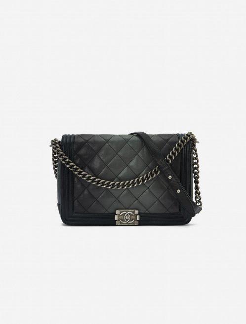Chanel Boy Medium Black / Grey