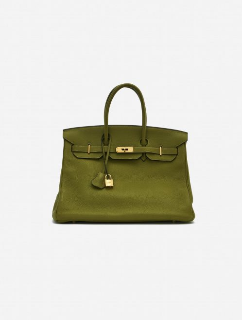 Hermès Birkin 35 Togo Vert Chartreuse