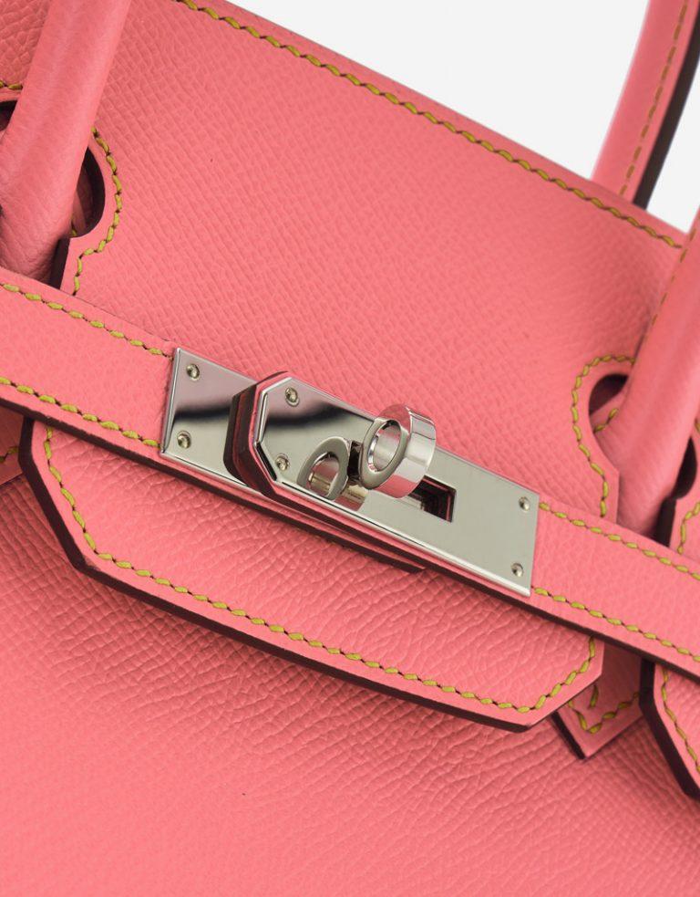 Hermès Birkin 30 HSS Epsom Rose Confetti / Gris Mouette / Jaune Poussin