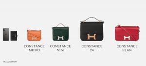 Hermès Constance Sizes Comparison SACLÀB