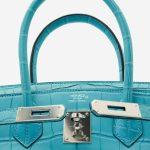 Hermès Birkin 30 Alligator St Cyr Blue  | Sell your designer bag on Saclab.com