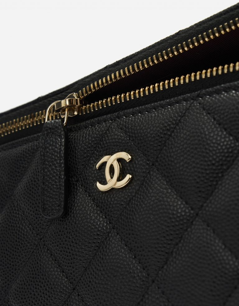 Chanel Vanity Small Caviar Black