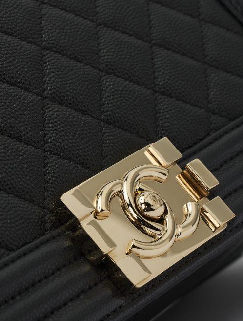 Chanel Boy Medium Caviar Black