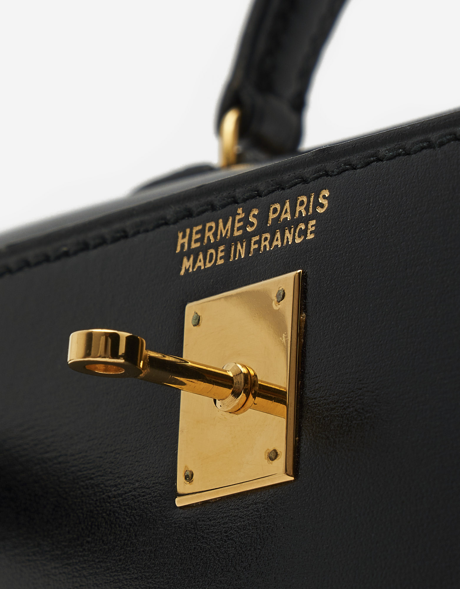 Hermès Kelly 15 Box Black