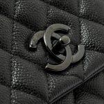 Chanel Handle Large Caviar So Black