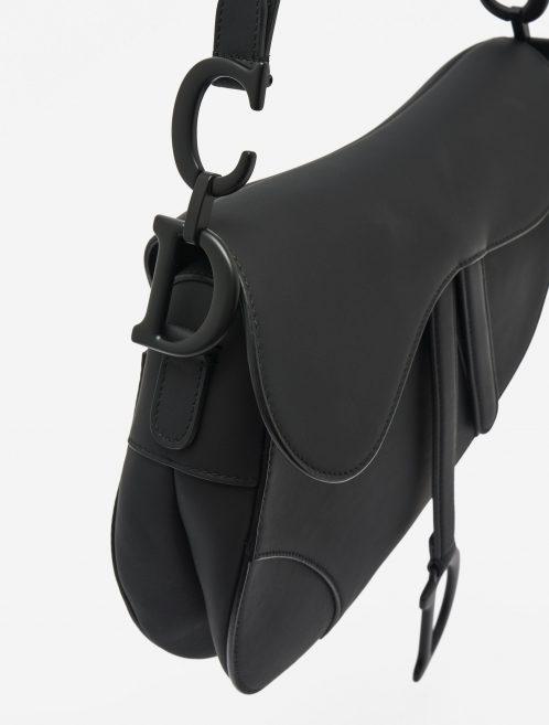 Dior Saddle Medium Calf Ultra Matte Black