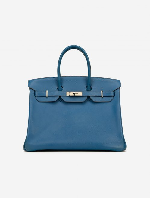 Hermès Birkin 35 Epsom Bleu Mykonos