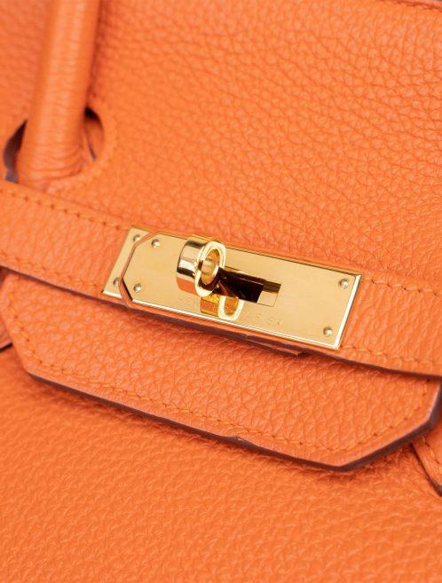 Hermès Birkin 35 Togo Orange H Orange  | Sell your designer bag on Saclab.com